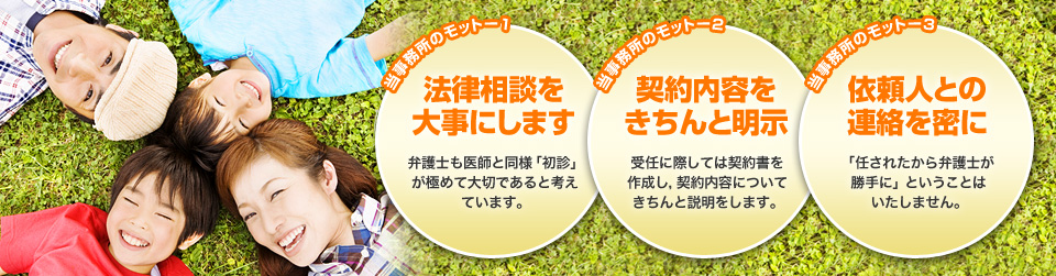 相続や離婚の相談は横浜の弁護士|さいわい総合法律事務所のメインビジュアル画像