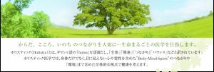 日本ホリスティック医学協会のメインビジュアル画像